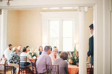 Wedding reception in Warrenwood Manor