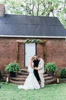 Arch Wedding Backdrop with greenery