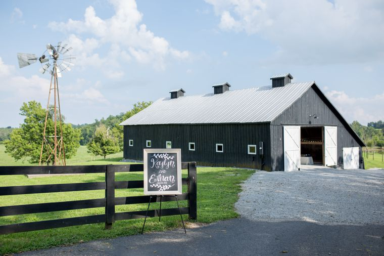 Wedding barn on Kentucky farm