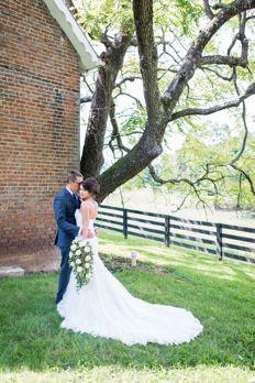 Southern traditional farm wedding