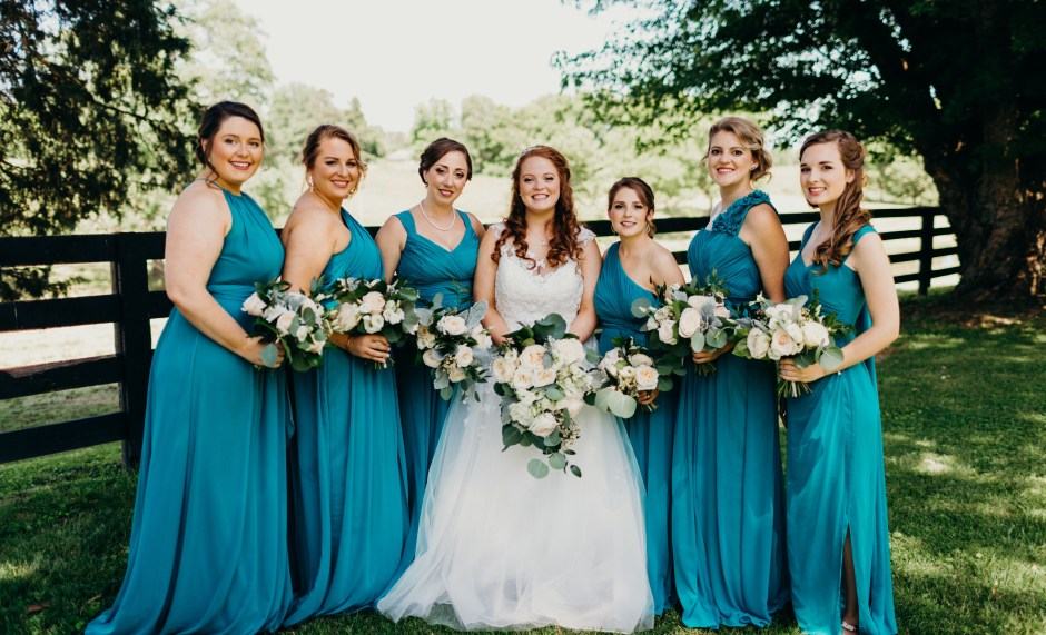 Romantic Traditional Wedding at Warrenwood Manor, Photo by Lydia Ruth Photography