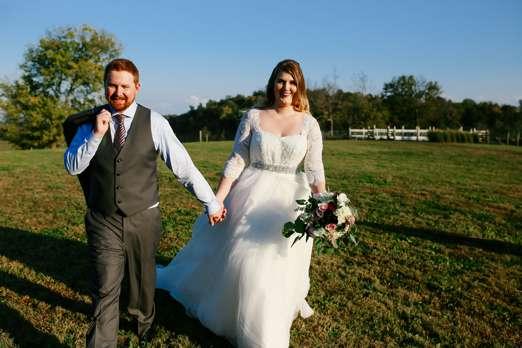 Rustic Elegant Fall Farm Wedding