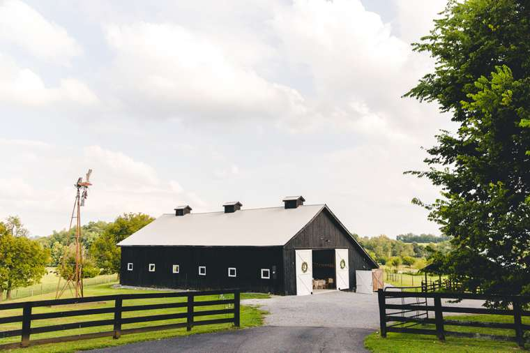 Wedding barn in Kentucky