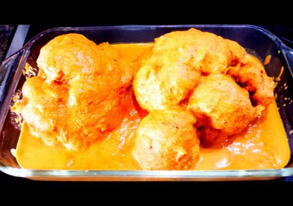 Roasted Cauliflower in Tomato Gravy Oven