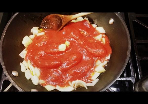 Pasta Sauce SauteeMoong (Mung) Beans | www.warriorinthekitchen.com