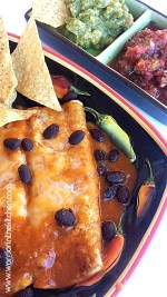 Vegetarian Black Bean Enchilada