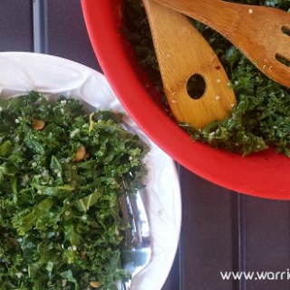 Kale Quinoa Salad | www.warriorinthekitchen.com