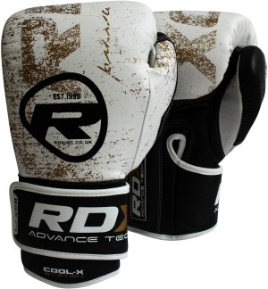 RDX Boxing Gloves BGX F4 Golden
