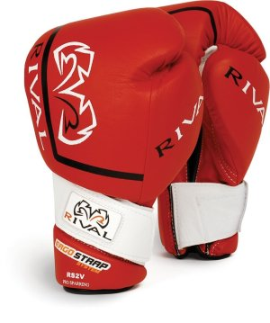 Rival Boxing Gloves RS2V Red