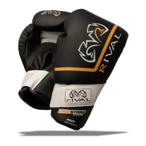 Rival Boxing Gloves RS2V Black Velcro