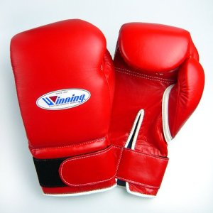 Winning Boxing Gloves - Red Velcro