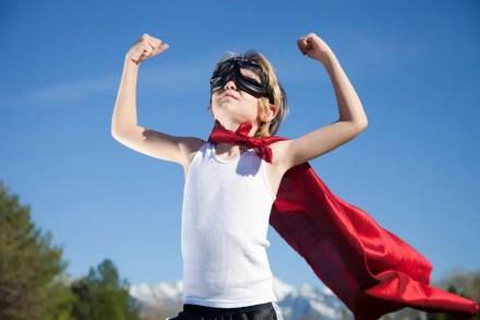 Fighting develops confidence