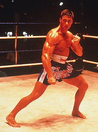 The Legend in Kickboxer 1989