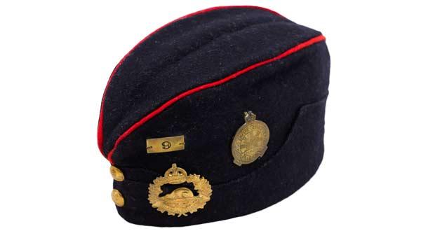 Japanese Canadian Legion #9, British Empire Service League beret, circa 1926. Toshimitsu Otomo collection, NNM 2016.23.2.1.1