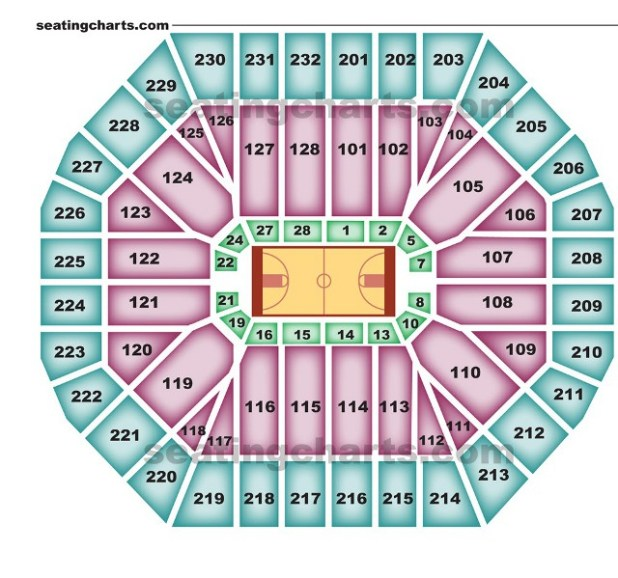 Golden State Warriors New Stadium: Oakland Coliseum Seating Chart Warriors