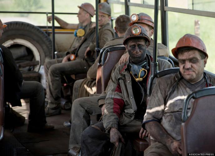 Afbeeldingsresultaat voor ukraine mine donbass