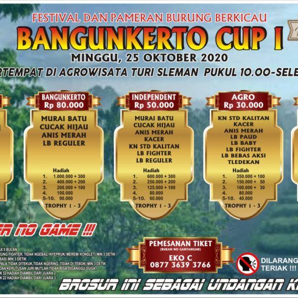 BROSUR BANGUNKERTO CUP 1
