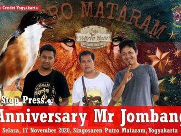 anniversary mr.jombang
