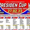 brosur dan jadwal presiden cup-6 cibubur jakarta 2022
