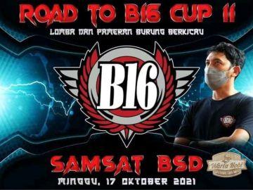 agenda lomba minggu road to b16 cup 2 tangerang