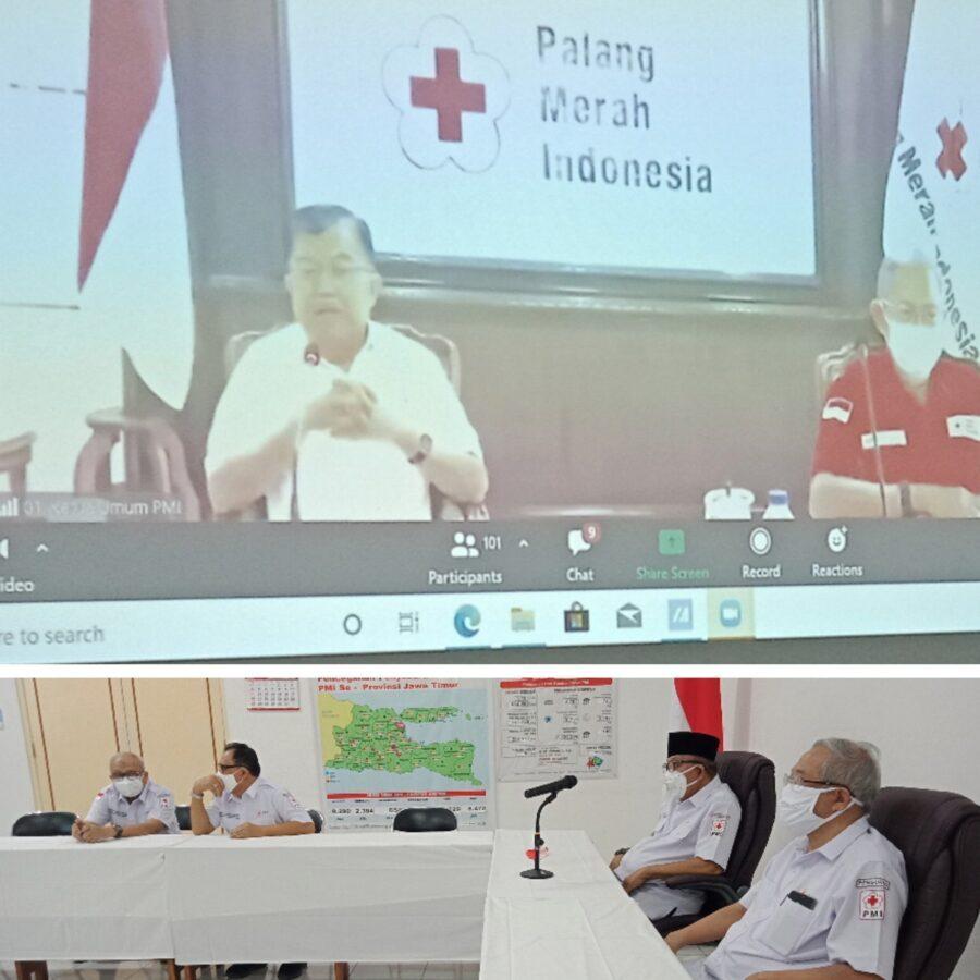 Ketua Umum PMI Pusat HM. Jusuf Kalla: Jangan Sampai Terjadi Covid-19 Tahap 2