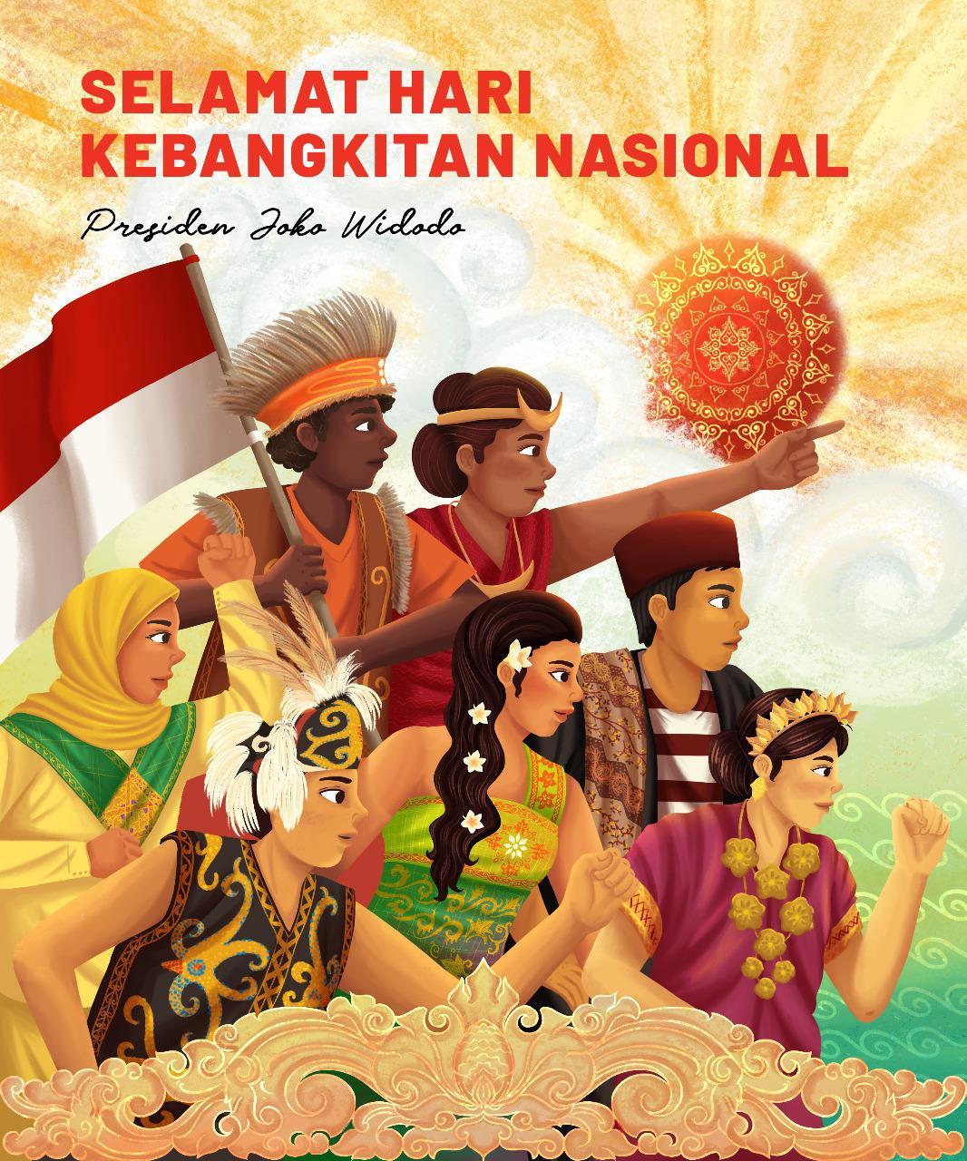 Peringati Harkitnas 2021, Jokowi: Bangkit Melawan Pandemi