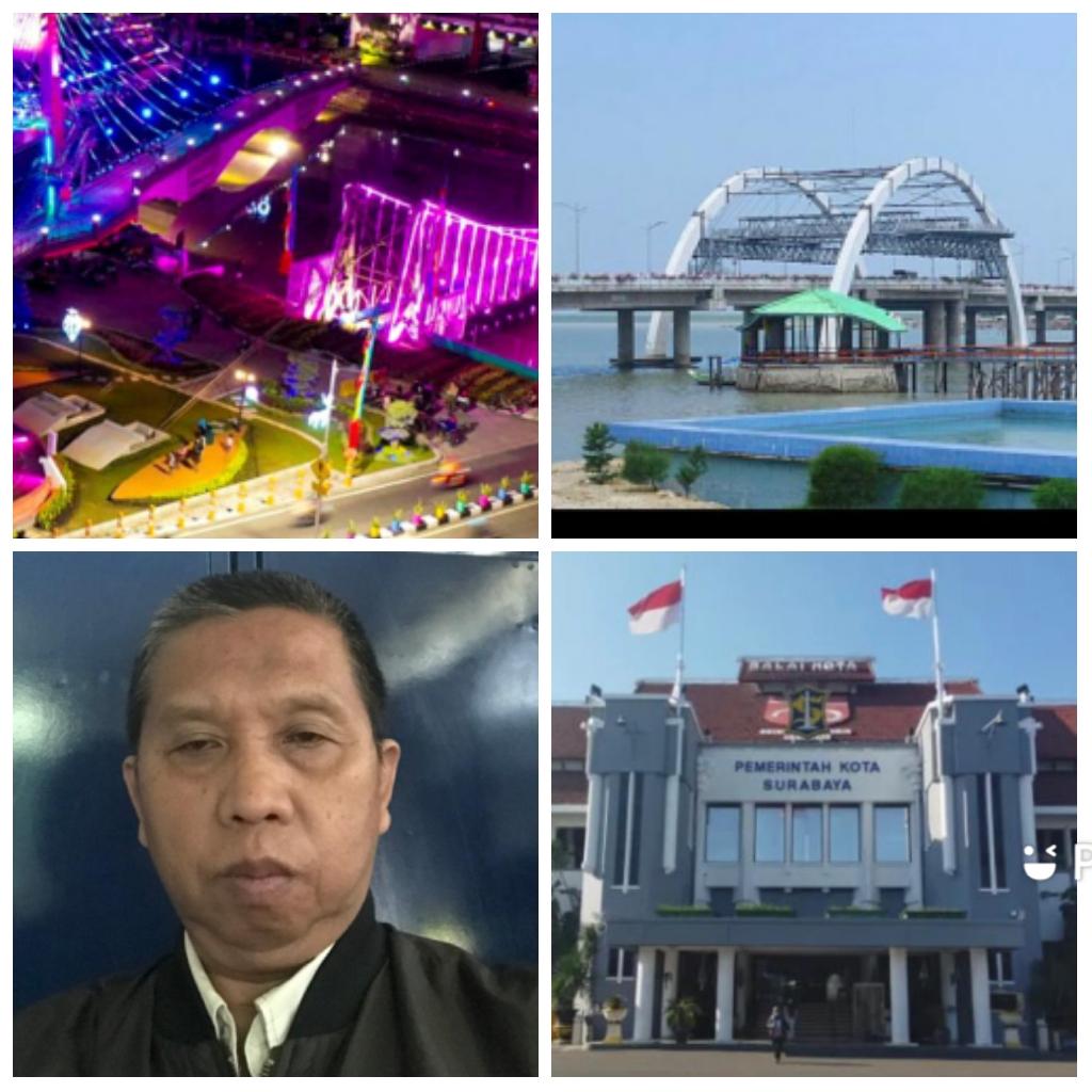 Djoko Tetuko dan Bangunan Monumental Kota Surabaya
