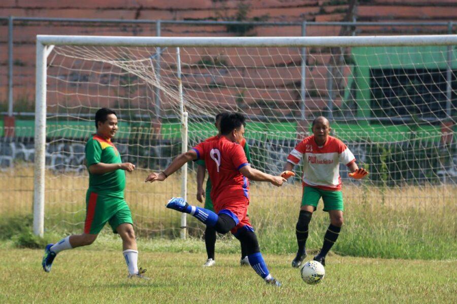 Versus Adhyaksa Bangil, Kesebelasan PWI Pasuruan Unggul 1 Gol
