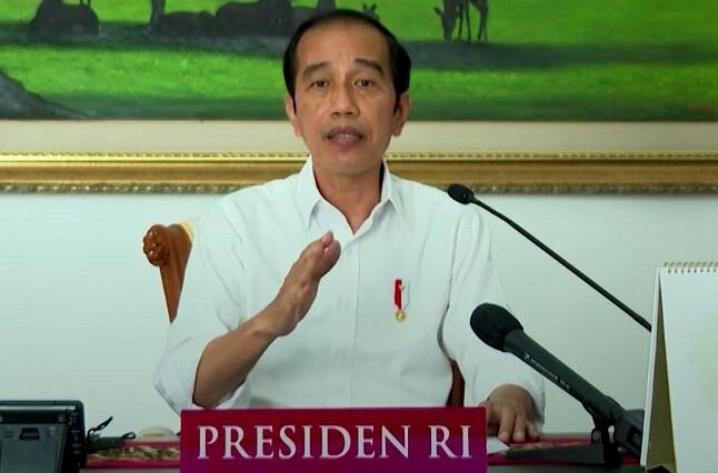 Presiden: Saya Minta Semua Kepala Daerah Fokus Masalah Covid dan Ekonomi