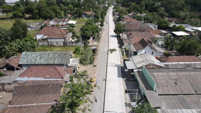 Program Prioritas Mas Bup, Kebut Pembangunan Infrastruktur Jalan