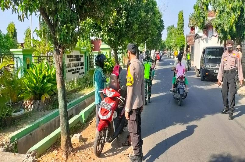 Operasi Yustisi Polres Tuban Jaring 30 Pelanggar Prokes