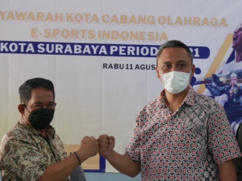 Terpilih Secara Aklamasi, Julianto PH Jadi Ketua ESI Surabaya