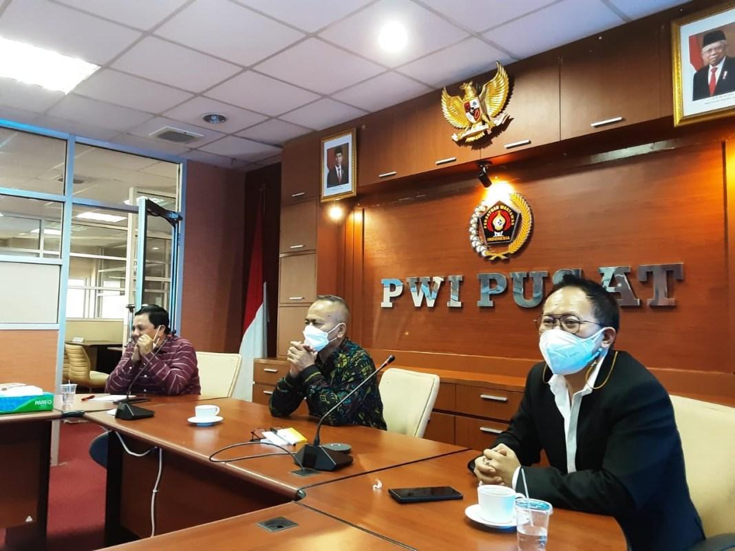 PWI Pusat Pastikan PWI Kendari Tuan Rumah HPN 2022