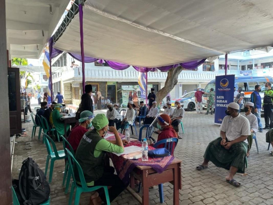 Nasdem Siapkan 25.000 Dosis Vaksin Untuk 10 Kabupaten Di Jatim