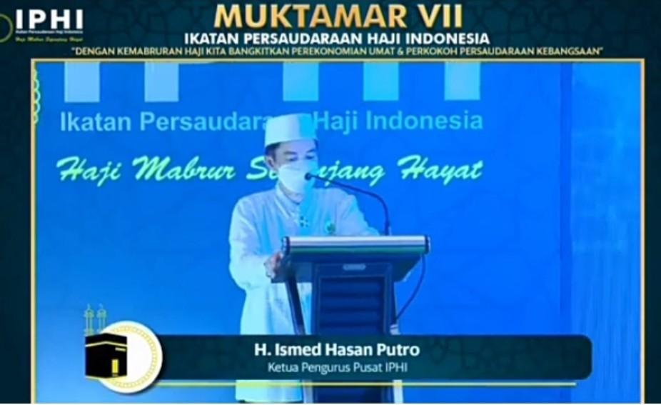Ismed Hasan Putro Terpilih Secara Aklamasi Ketum IPHI 2021-2026