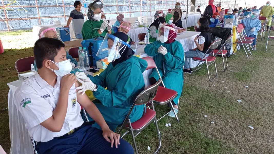 5.700 Pelajar SMP akan Divaksin Dosis Kedua di Islamic Center Surabaya