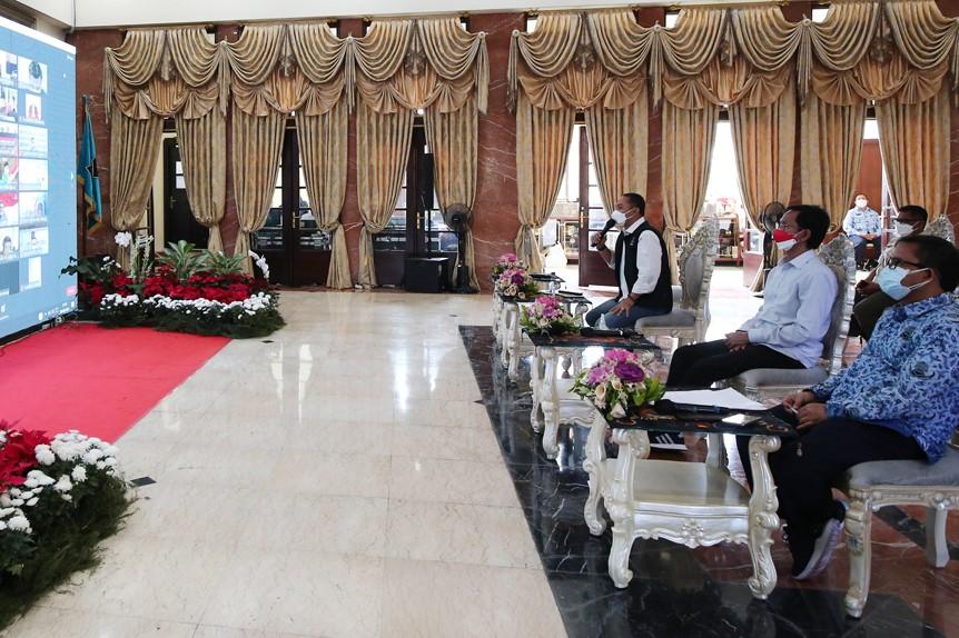 Di Forum FGD, Eri Mohon Arahan Langkah Percepatan Surabaya Menuju Zona Kuning