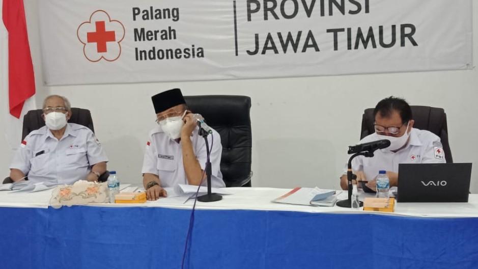 Ketua PMI Jatim H. Imam Utomo S, Permintaan Plasma Konvalesen Nol Persen