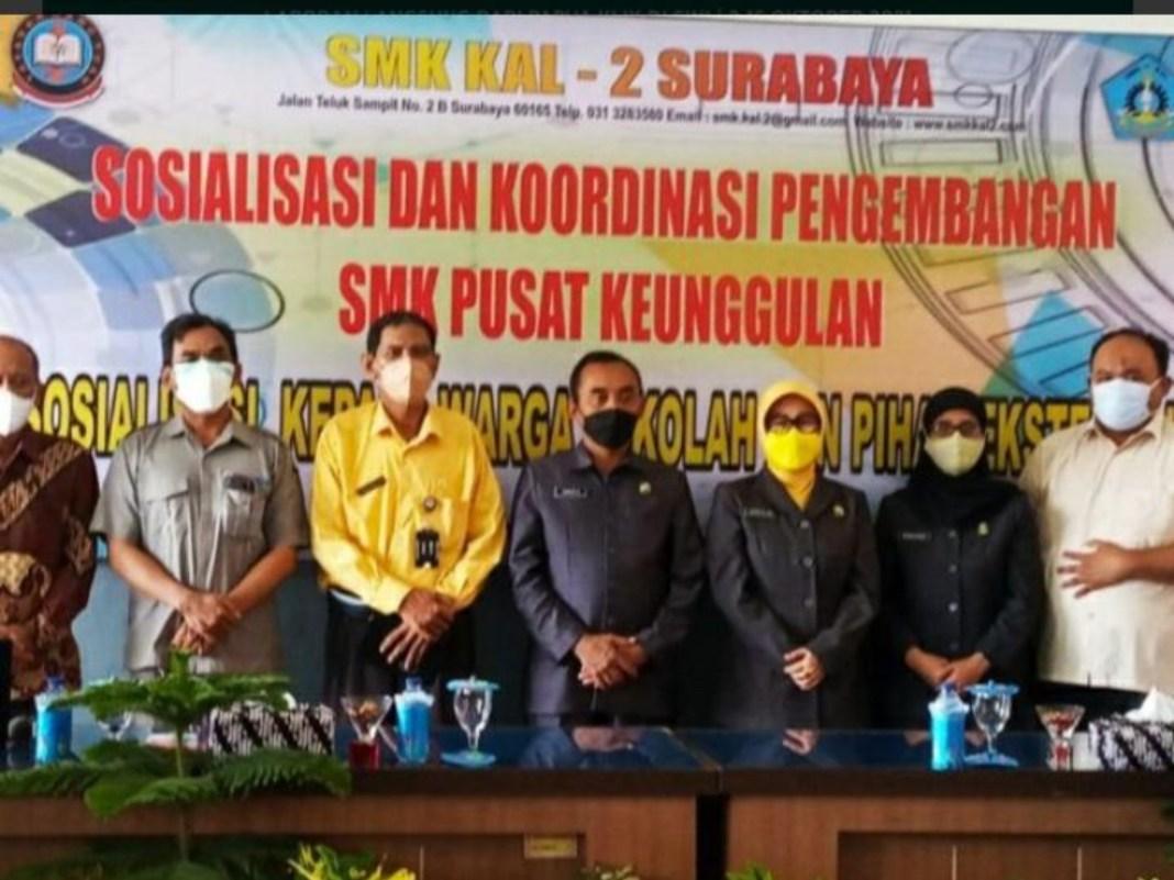 Dipercaya Jadi Pusat Keunggulan, SMK KAL 2 Gelar Sosialisasi