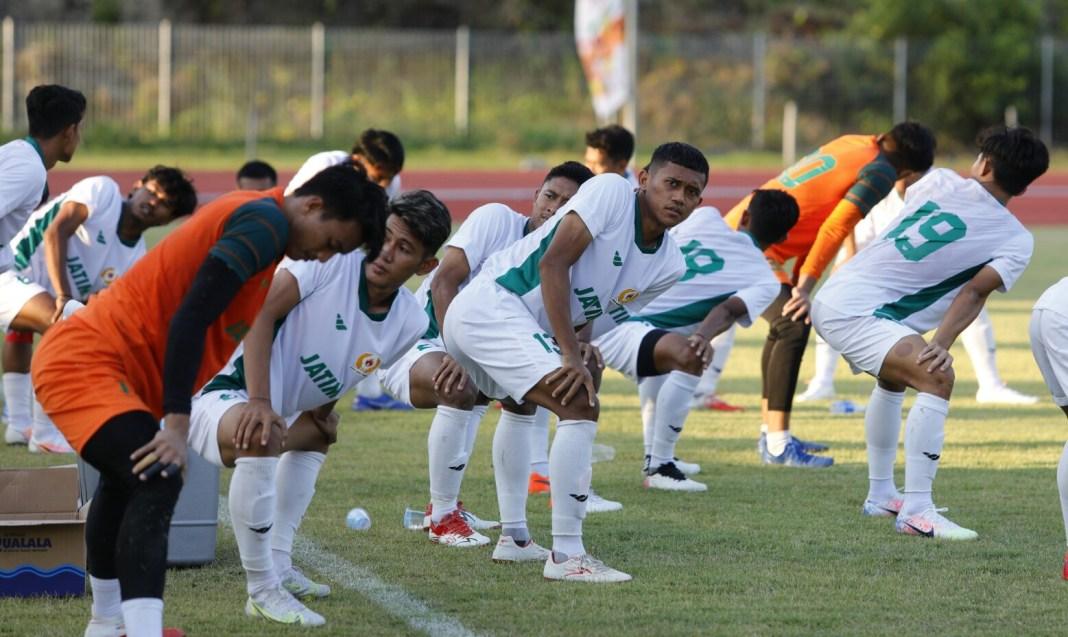 Jelang Laga Perdana, Sepak Bola PON Jatim Bertekad Libas Sulsel