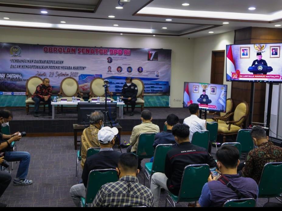 LaNyalla Optimis UU Daerah Kepulauan Percepat Pembangunan Indonesia Poros Maritim Dunia