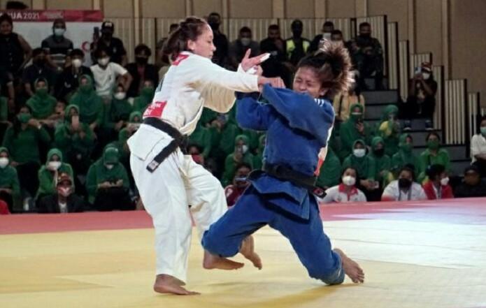 Atlet Dewinda Sukses Raih Emas Judo