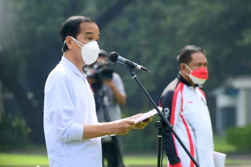 Presiden Jokowi: Tak Ada yang Bisa Hentikan Leani Ratri Oktila