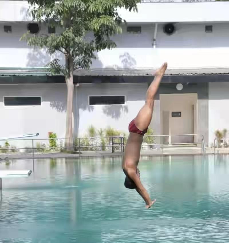 Atlet Puslatda Loncat Indah Jatim Gelar Simulasi Jelang PON Papua