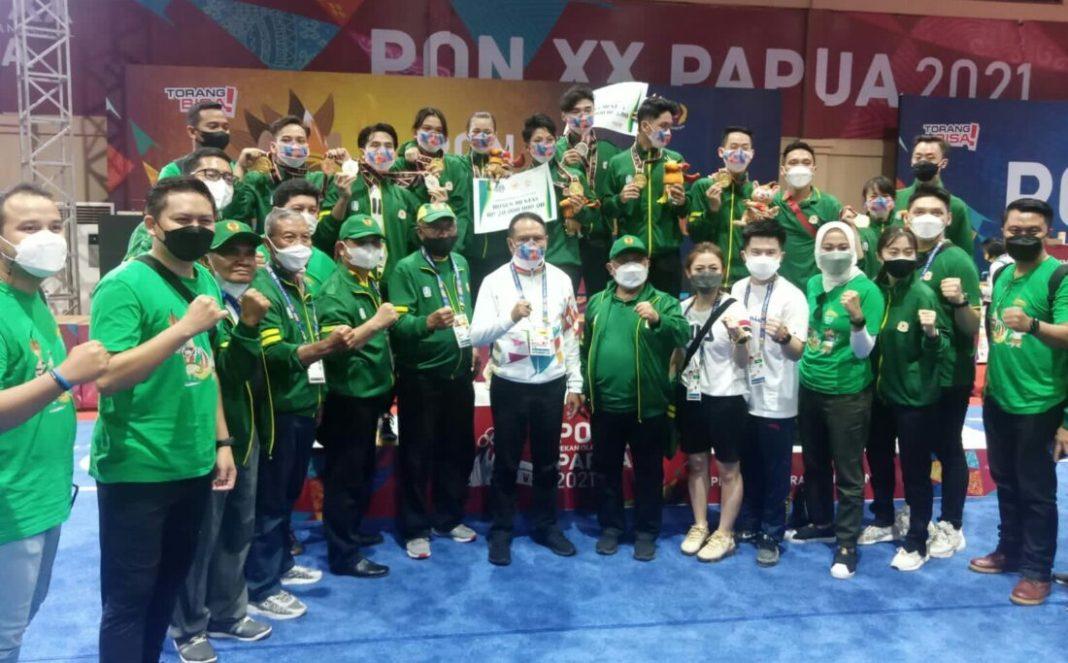 Wushu Jatim Pecah Rekor Borong 6 Medali Emas, Disaksikan Jokowi
