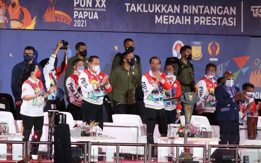 PON XX Papua Resmi Dibuka Presiden Jokowi