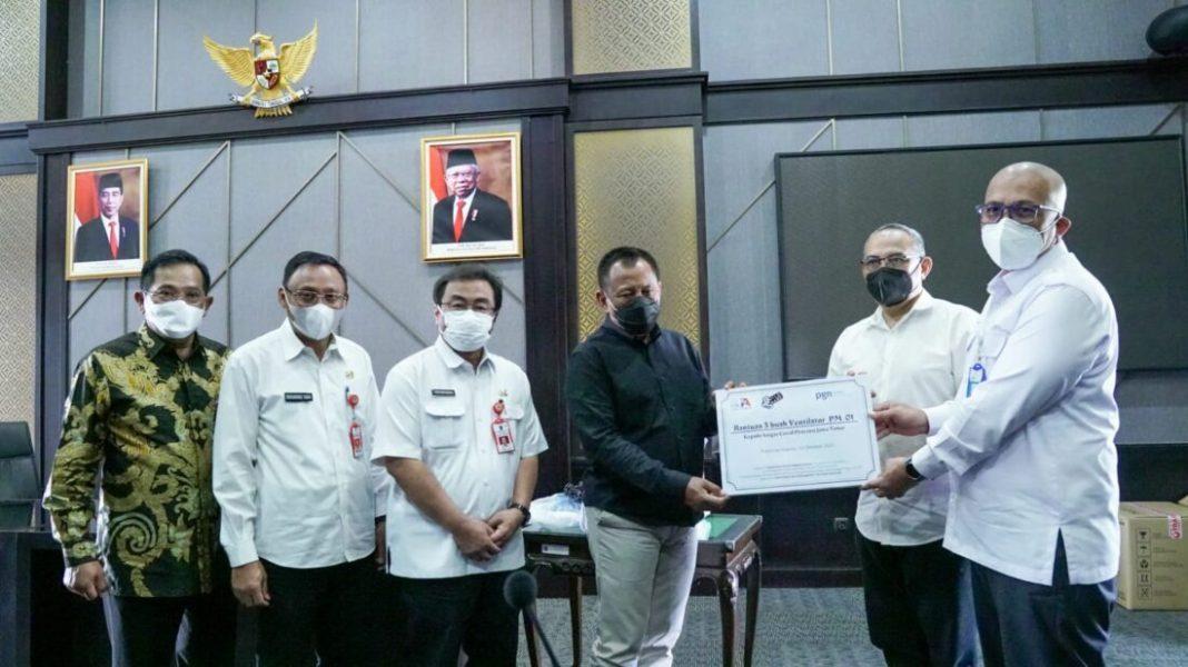 Alumni ITB Bantu Ventilator dan Beasiswa Bagi Anak Terdampak Covid-19