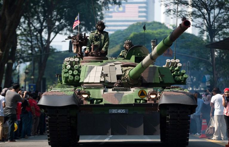Malaysia Military Parade