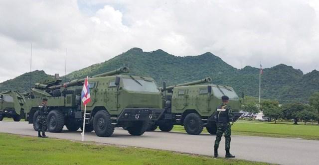 Thailand Military Artilery