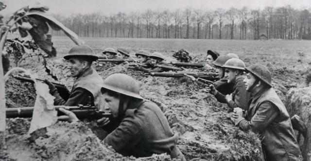 The British Infantry at World War 1